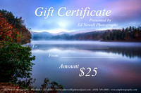 - Gift Certificates / A Gift Of Art -